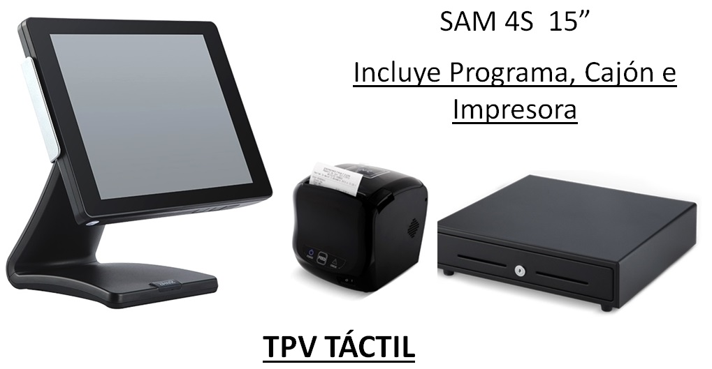 TPV SAM 260 SF 1292€ + IVA